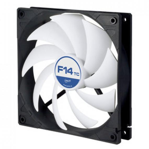 Ventilateur de boîtier Arctic F14 TC - 140 mm haute performance avec température contrôlée