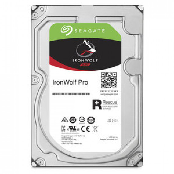 "Disque dur interne Seagate IronWolf Pro 2 To (ST2000NE0025) - 3.5"" 2 To 7200 RPM 128 Mo Serial ATA 6 Gb/s pour NAS"