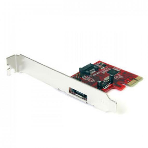 Carte contrôleur STARTECH.COM PEXSAT31E1 - PCI-E SATA (1x eSATA et 1x SATA 6Gbps)