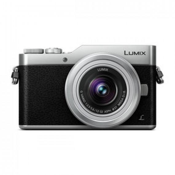 Appareil photo 16 MP PANASONIC LUMIX DC-GX800 ARGENT + 12-32 MM - Zoom numérique 4x - Photo et vidéo 4K - Écran tactile inclinable - Wi-Fi + Lumix G Vario 12-32 mm f/3.5-5.6