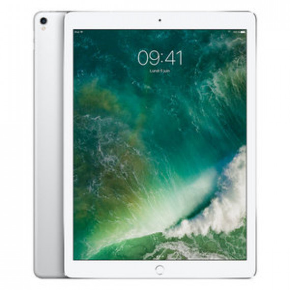 "Tablette Internet Apple iPad Pro 12.9 pouces 512 Go Wi-Fi Argent - Apple A10X 64 bits RAM 4Go eMMC 512Go 12.9"" LED tactile Wi-Fi AC / Bluetooth Webcam iOS 10"
