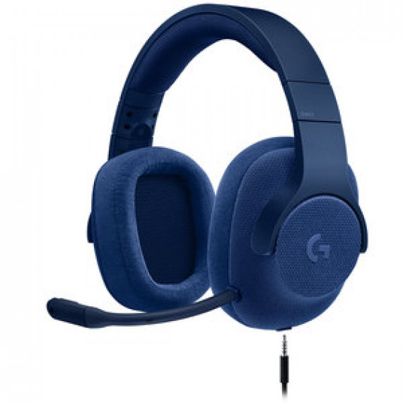 Casque-micro 7.1 filaire pour gamer Logitech G433 7.1 Surround Sound Wired Gaming Headset Bleu - (compatible PC, Xbox One, PS4, Switch)