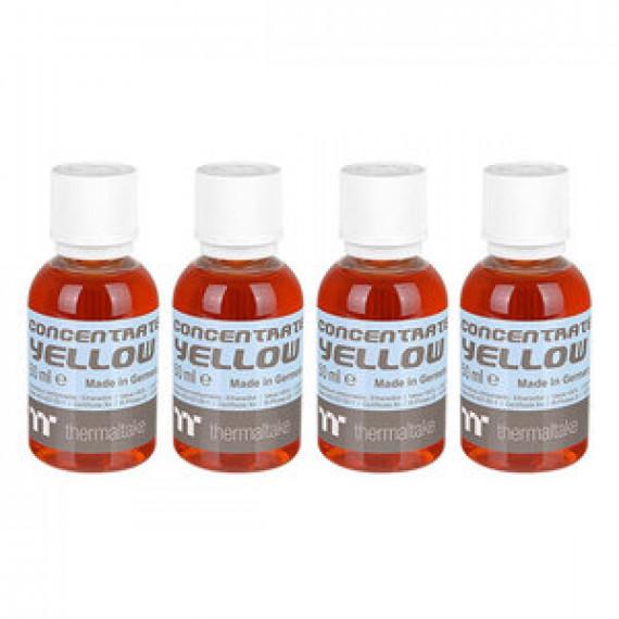 Lot de 4 bouteilles de colorant pour watercooling Thermaltake Premium Concentrate Jaune