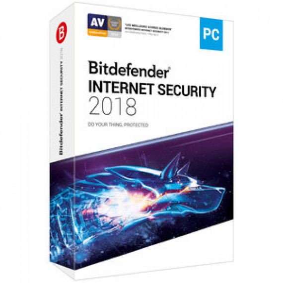BITDEFENDER Internet Security 2018 - Licence 2 Ans 5 Postes