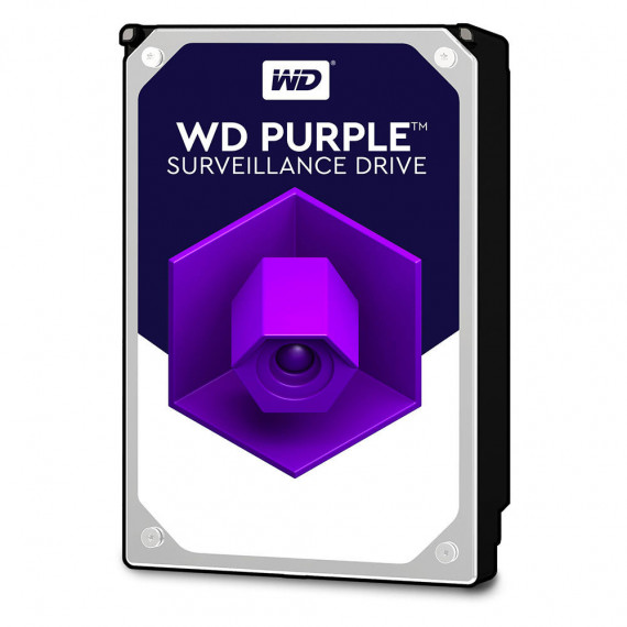 "Disque Dur interne WD Purple Videosurveillance 2 To SATA 6Gb/s - 3,5"" 4 To 64 Mo Serial ATA 6Gb/s - WD20PURZ"