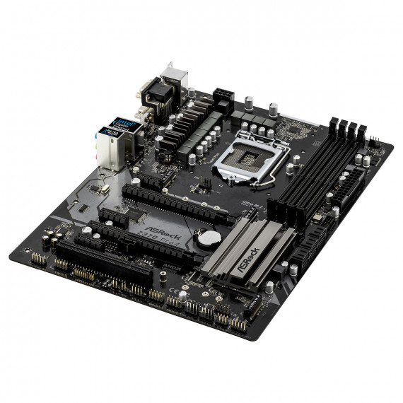 Carte Mere ASRock Z370 PRO4 - ATX Socket 1151 Intel Z370 Express - 4x DDR4 - SATA 6Gb/s + M.2 - USB 3.0 - 2x PCI-Express 3.0 16x