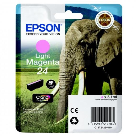 EPSON  Cartouche jet d'encre Epson Claria 24 - Magenta  Clair - C13T24264010