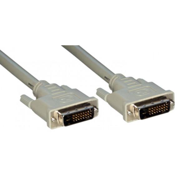 MCL Câble DVI-D mâle / DVI-D mâle dual link (24+1) - 5m