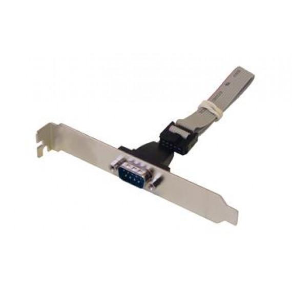 MCL Nappe DB09 mâle / HE10 10 pts sur slot (droit) - 25 cm