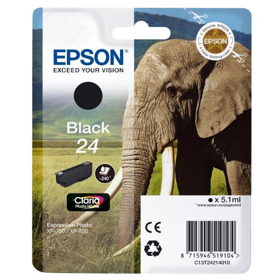 EPSON  Cartouche jet d'encre Epson Claria 24 -  Noir - C13T24214010