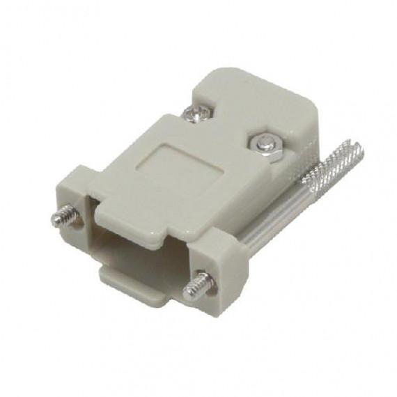 MCL Capôt plasique MCL pour DB09 pts ou HD15 pts  Beige