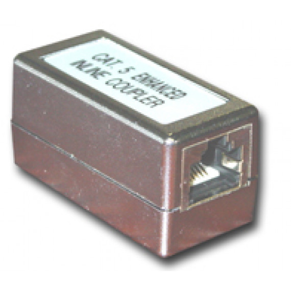 MCL Coupleur RJ45 Cat 5e blindage total