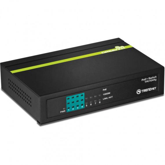 Switch TRENDnet TPE-TG44g 8 ports Ethernet 10/100/1000 dont 4 PoE+