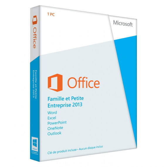 Microsoft Office Home and Business 2013 - Licence - 1 PC - Win -  Europe - 32/64-bit