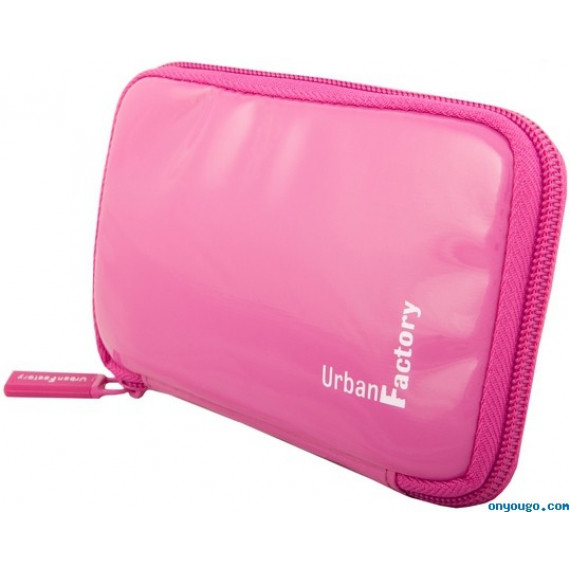 URBAN FACTORY Etui pour HDD externe 2,5'' Crazy Sleeve - Fuschia (HDD14UF)