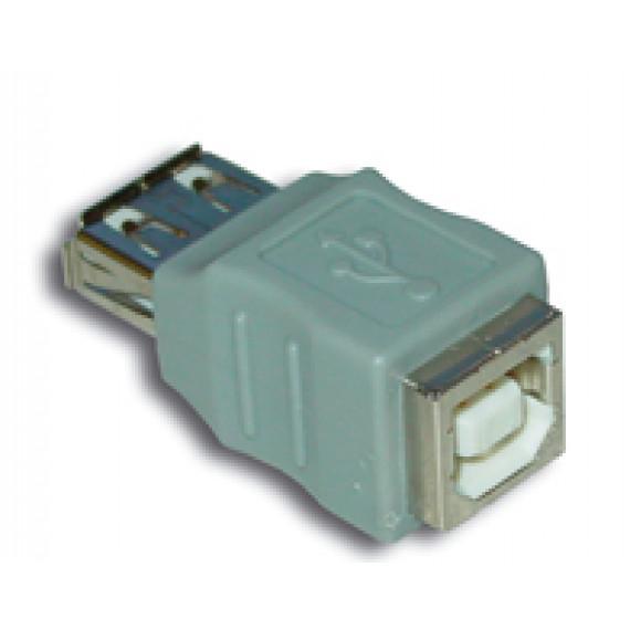 MCL Adaptateur USB A femelle / B femelle