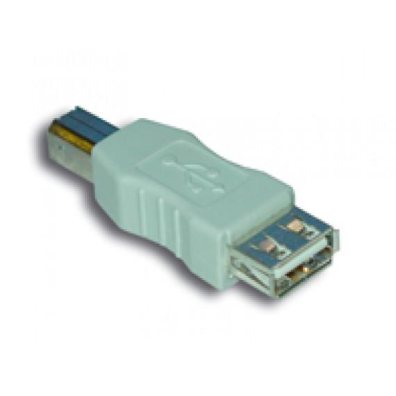 MCL Adaptateur USB A femelle / B mâle