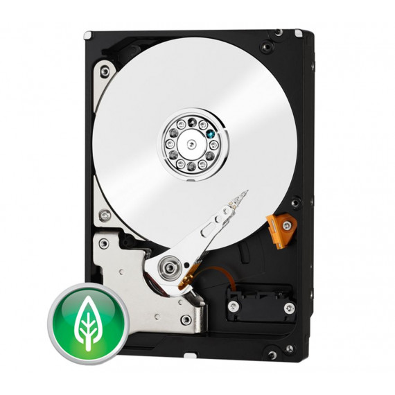 Disque dur Western Digital 6 To (6000 Go) SATA III 6 Gb/s Green 64 Mo (WD60EZRX) Recertified