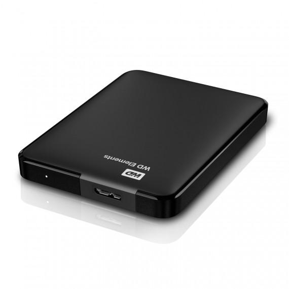Disque dur externe WESTERN DIGITAL ELEMENTS 1 To 2,5 Usb 3.0 et 2.0 dont RCP : 20 €