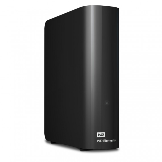 "Western Digital - Disque dur externe Elements Desktop 4 To 3.5"" USB 3.0  et 2.0 dont RCP : 60 €  (WDBWLG0040HBK)"