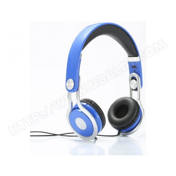 WE Casque audio bleu pour enfant